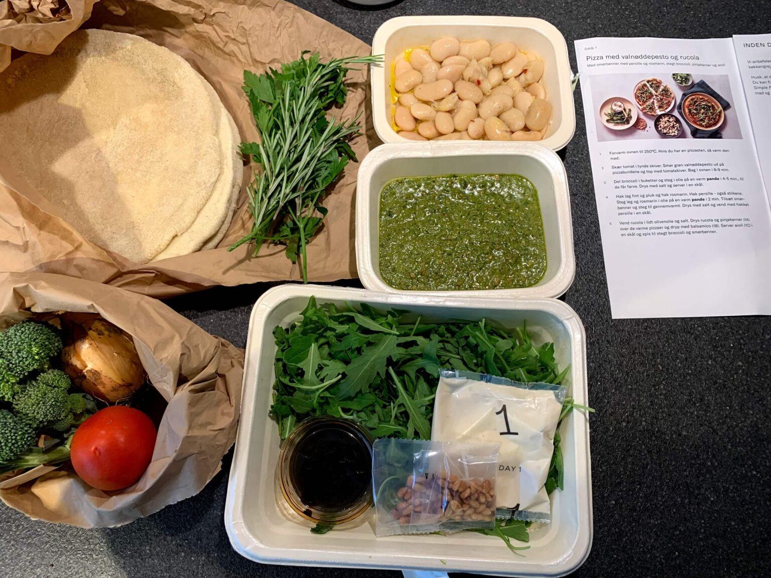 Simple Feast tilberedning