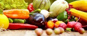 Friske frugter og grøntsager