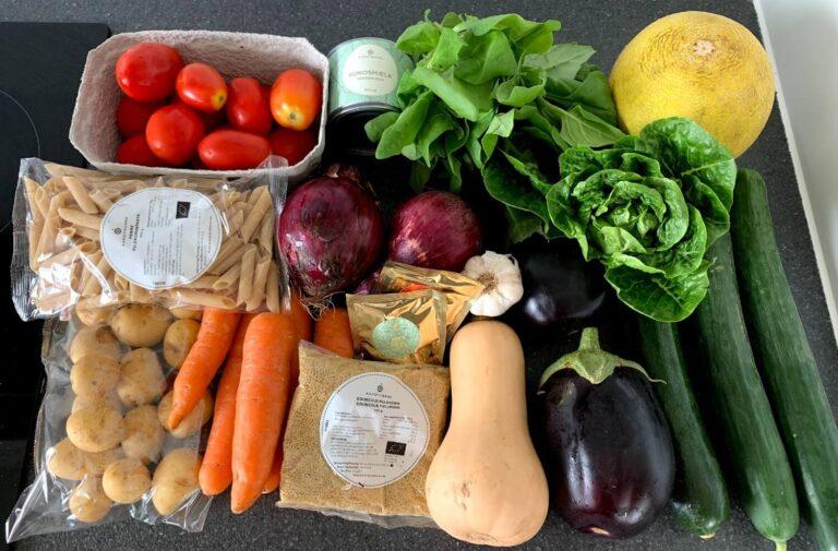Økologiske frugter, grøntsager og kolonialvarer fra Aarstiderne